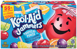 Kool Aid Jammers Tropical Punch 10pk