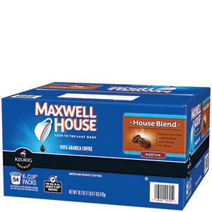 Maxwell House Coffee Pods 54ct