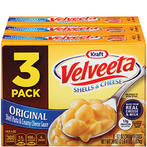 Shells & Cheese 3 pack